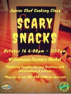 Join the Williamson Farmers Market on October 16 …