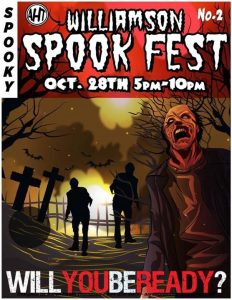 Spookfest this Saturday at 5pm-10pm in Downtown …